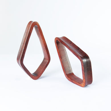 Blood Wood Crystal Tunnels (Pair)