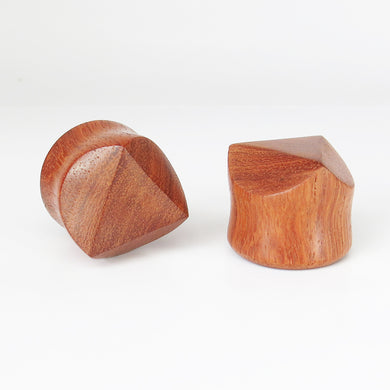 Blood Wood Kubrick Plugs (Pair)