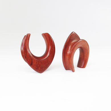 Blood Wood Teardrop Spreaders (Pair)