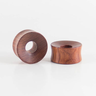 Blood Wood Thick Wall Tunnels (Pair)