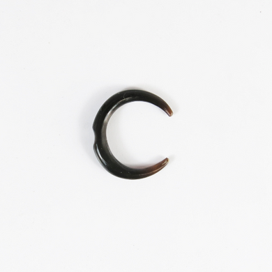 Buffalo Horn Septum Pincher with Notch
