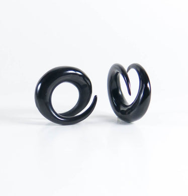 Buffalo Horn Short Coils (Pair)