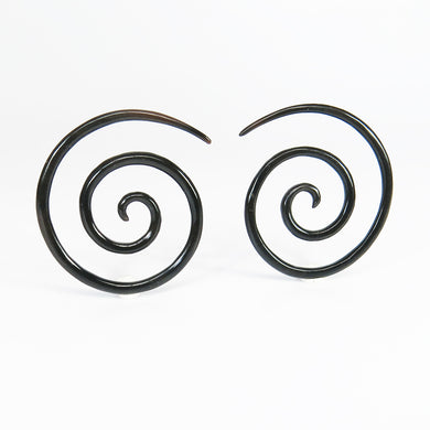 Buffalo Horn Super Spirals (Pair)