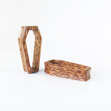Coconut Palm 3D Coffin Tunnels (Pair) - Bare Bones Organics