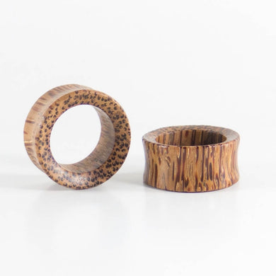 Coconut Palm Concave Tunnels (Pair)