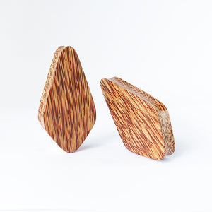 Coconut Palm Crystal Plugs (Pair) - Bare Bones Organics