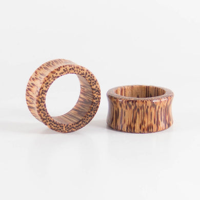 Coconut Palm Round Tunnels (Pair) - Bare Bones Organics