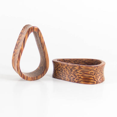 Coconut Palm Tall Teardrop Tunnels (Pair) - Bare Bones Organics