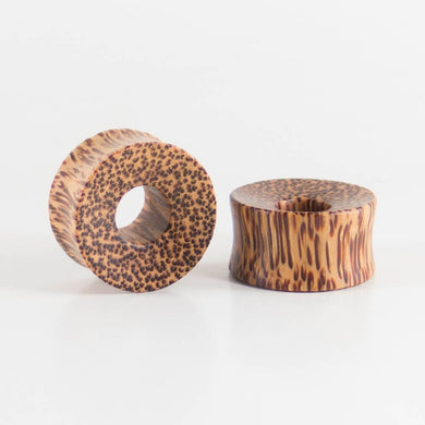 Coconut Palm Thick Wall Tunnels (Pair)