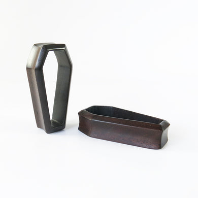 Dark Raintree 3D Coffin Tunnels (Pair) - Bare Bones Organics