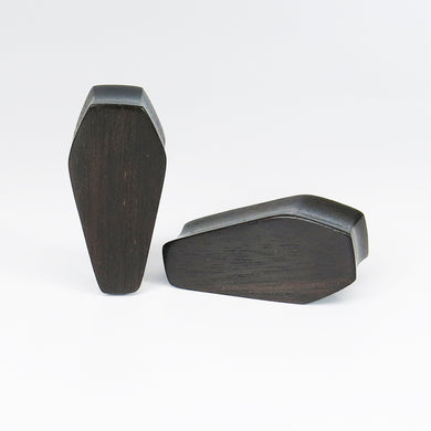 Dark Raintree Coffin Plugs (Pair) - Bare Bones Organics