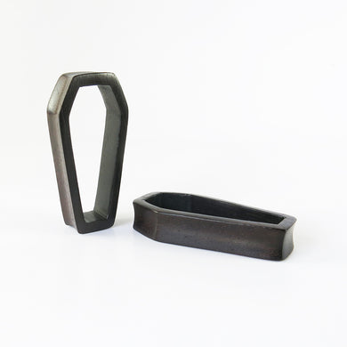 Dark Raintree Coffin Tunnels (Pair) - Bare Bones Organics