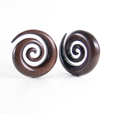 Dark Raintree Super Spirals (Pair)