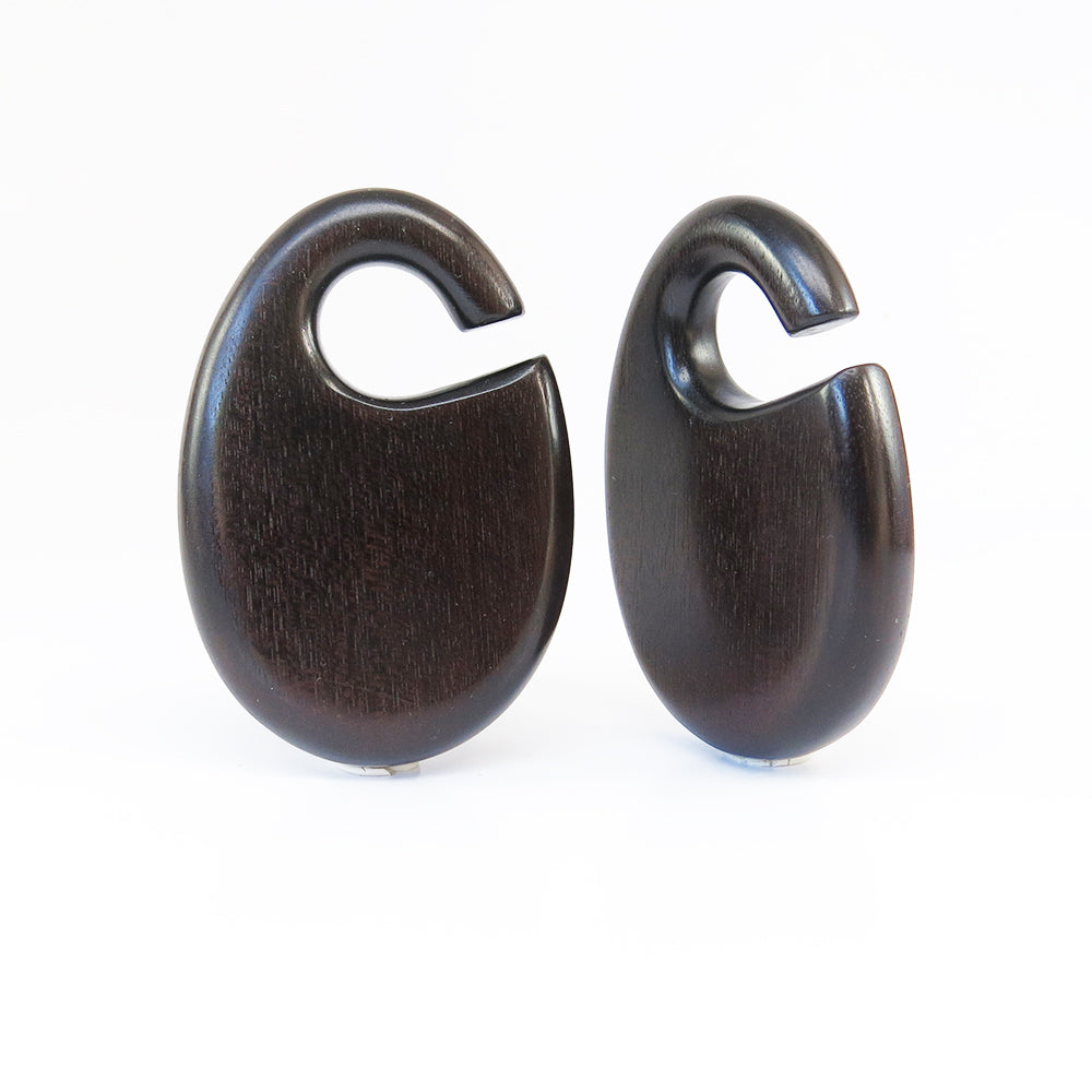 Dark Raintree Dewdrop Ear Weights