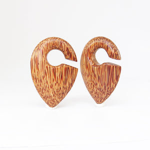 Coconut Palm Pendulumn Ear Weights (Pair)