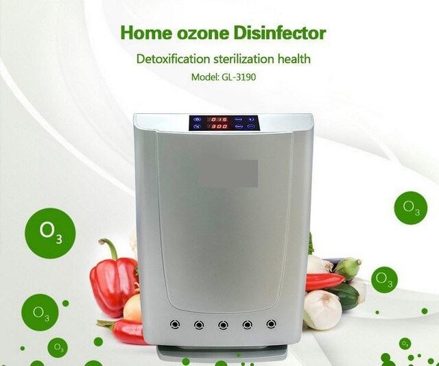 Plasma Air Purifier For Home/Office Air Purification With Big Power With Ionizer Anion And Ozone With Ce Gl-3190