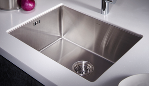 "KOHLER Strive 24"" Single Under-Mount Kitchen Sink 
