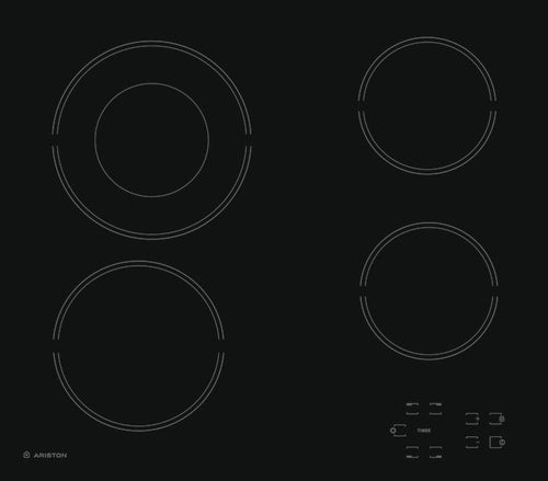 Ariston HR 602 B A Ceramic Hob