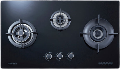 Lebensstil Built-in Gas Hob with Flexi Cut Out LKGH-8603MB