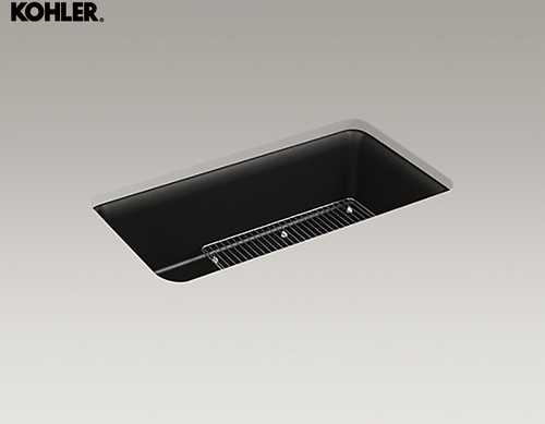 Kohler Single Bowl Granite Sink K-8206T (Black)