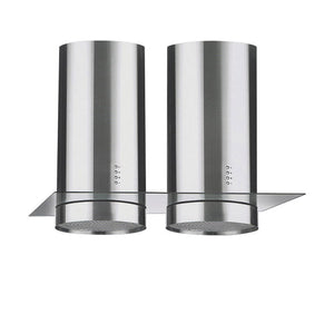 Lebensstil Kollektion Island Twin Hood with Chimney & Glass LKCH-9900TIS