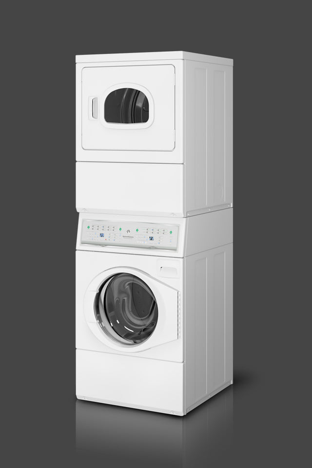 Speed Queen Stacked Washer/Dryers ATEE9ASP433XW34