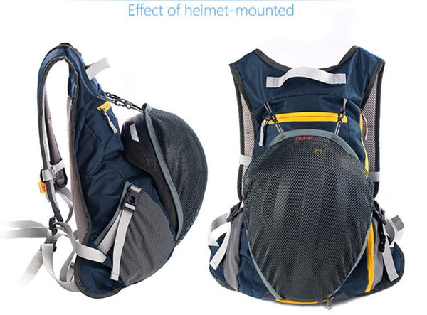 15L Riding Backpack with Helmet Slipover  by Naturehike