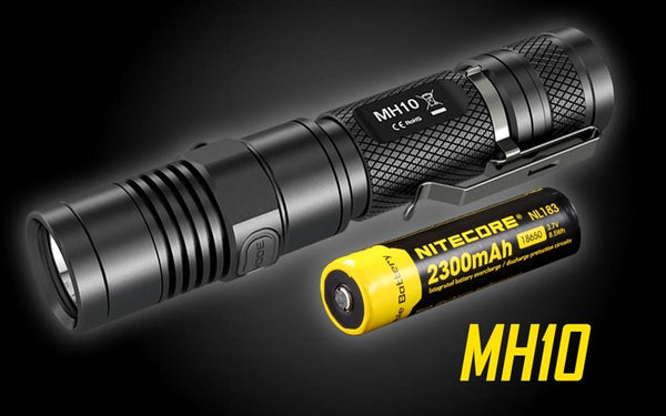 Nitecore MH10 Rechargeable Flashlight