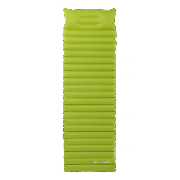 TPU inflatable sleeping pad with pillow
