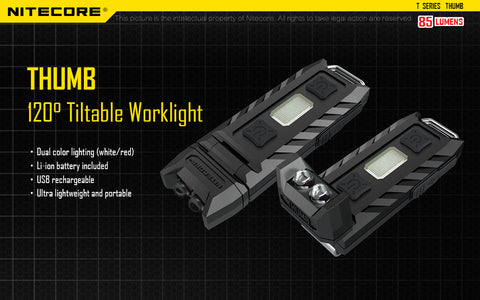 Nitecore Thumb Keyring Flashlight