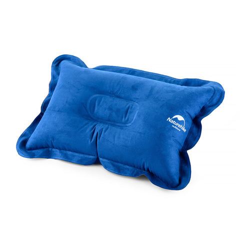 Inflatable Suede travelling pillow