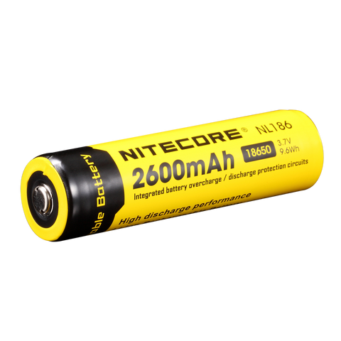 Nitecore NL186 Rechargeable Battery