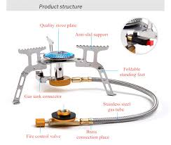 NatureHike Ultralight Camping Foldable Stove