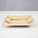 Palm Leaf Square Plate - 16cm