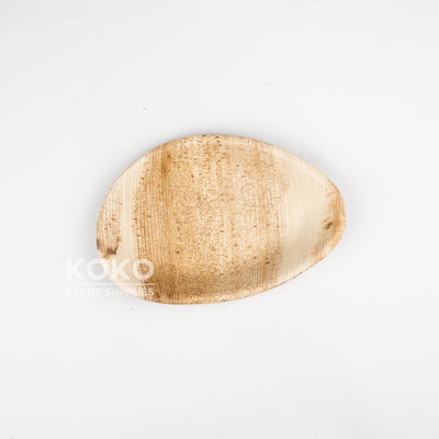 Palm Leaf Oval Plate - 20cm