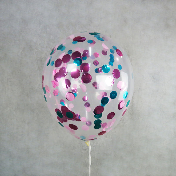 Mermaid Helium Confetti Balloon Melbourne