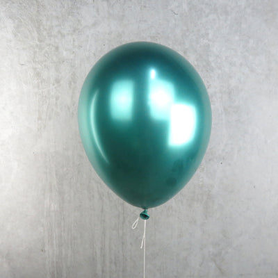 Chrome Green Helium Balloon