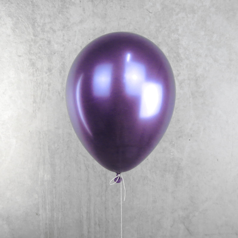 Chrome Purple Helium Balloon