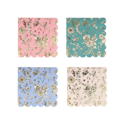 English Garden Lace Small Napkins (Pack of 16)