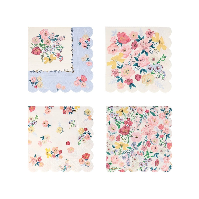 English Garden Large Napkins (Pack of 16)
