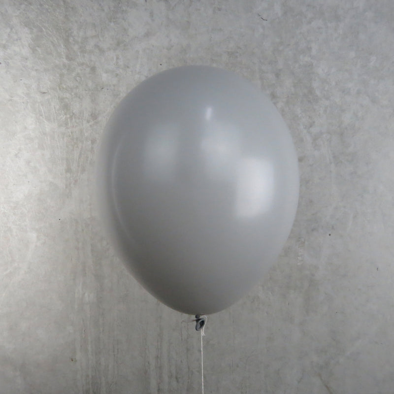 Grey Helium Balloon