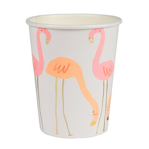 Flamingo Cups Flamingo Theme