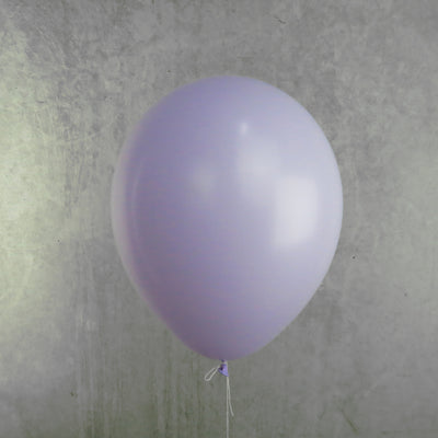 30cm Round Pastel Lilac Balloons - You Fill (Pack of 5)