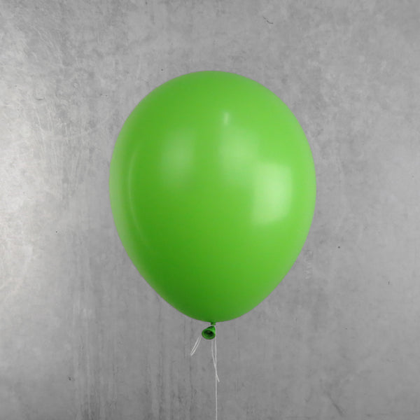 Lime Green Helium Balloon