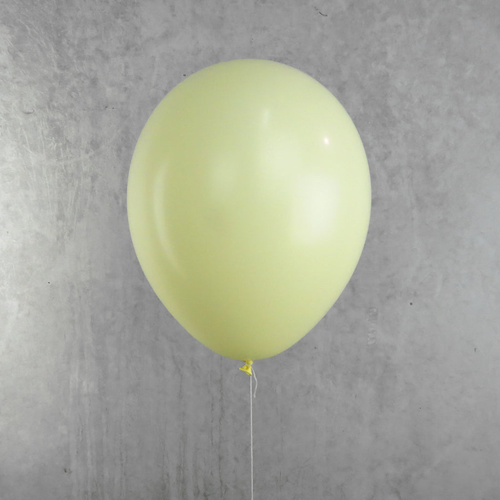 Pastel Yellow Helium Balloon