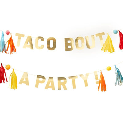 Mexican Themed Taco Bout a Party Bunting