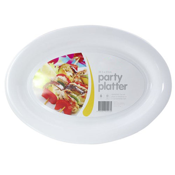 Plastic Serving Platter - Oval