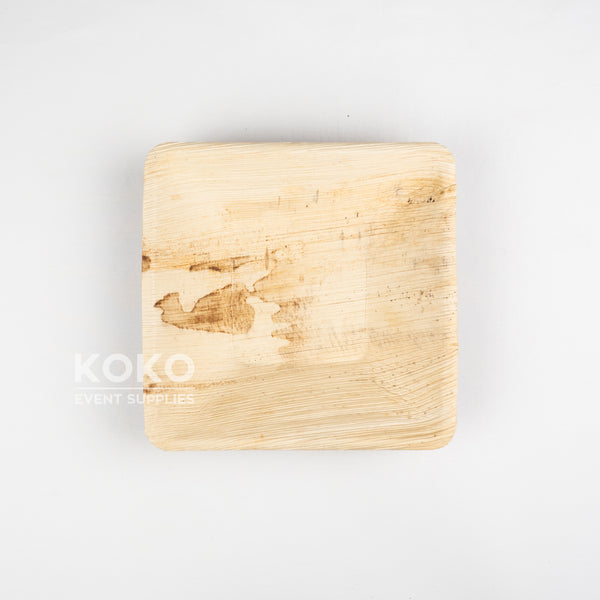 Palm Leaf Square Bowl - 18cm
