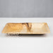 Palm Leaf Rectangle Plate - 20cm X 12.5cm