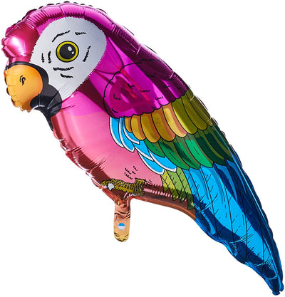 Parrot Shaped Foil Balloon 89cm - Helium Filled